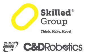 "In the exhibitors catalogue we are listed with the name of our american subsidiary ""C&D Skilled Robotics Inc"""