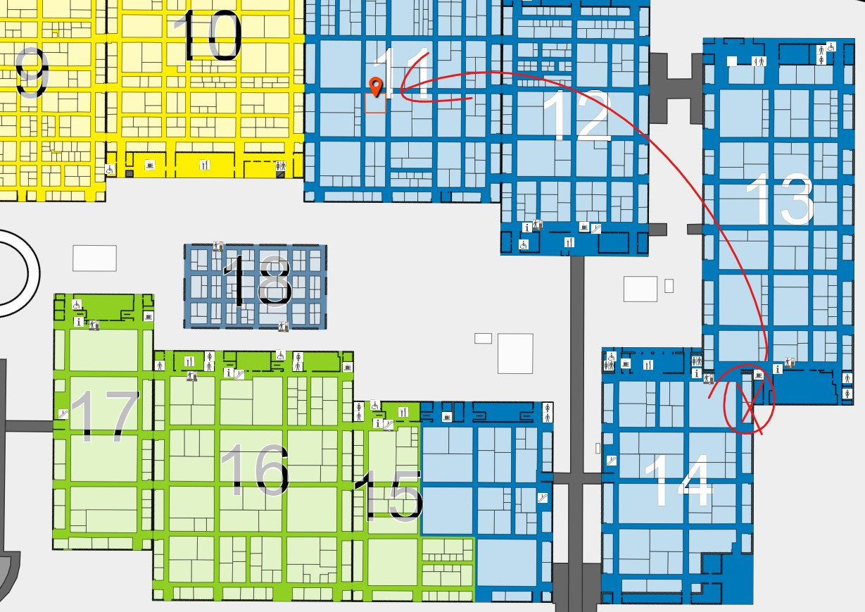 New booth position at Interpack 2020